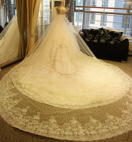 Free home delivery New White / ivory Lace Wedding Dress Custom Size 2-4-6-8-10-12-14-16-18-2022 20 orders upscale wedding custom