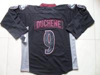 2013 Colorado #9 Matt Duchene Black Ice Hockey Jersey Embroidery logo Cheap Hockey jersey Free Shipping