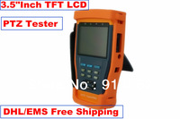 """DHLFree shipping:HOT Newest 3.5"""" LCD Monitor CCTV Camera Video Test / Tester"""