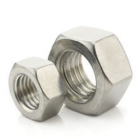 DIN934/GB6170  Stainless Steel A2--304 Hex Nuts METRIC  M5