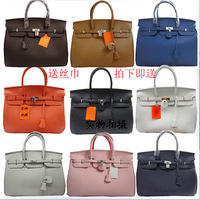 Brand Hot-selling Birkin40 women handbag fashion women's tote platinum H handbags Large Size Leather Bolsas Bolso Free Shipping