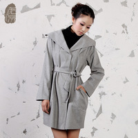 Sweep involucres wool coat