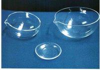quartz galss evaporating dish/lab measurements&analysis instruments