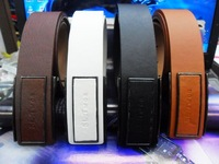 cinturon de cuero Male strap belt trend white black brown  cinto de couro