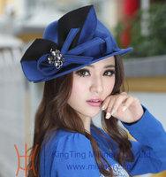 Free Shipping New Arrival Women Hats Wool Felt Hat Winter Hat Women Chapeau Lady Hat Natural Wool Made