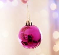 2013 New Fashion Fashion Christmas Decorations Balls Rose SY11120412 (2 pieces a set)