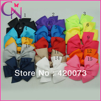 30 Pcs/Lot Pinwheel Hair Bow For Baby Grosgrain Hair Bow For Girls Boutique Hair Bow With Clips For Kid CNHBW-1310221