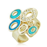 Free Shipping Vintage fashion personality decoration fashion women's female open ring