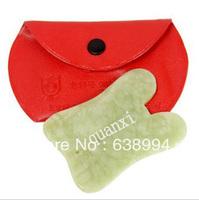 FREE SHIPPING SLIDE GUA SHA BOARD made of China Jade guasha jade tool