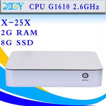 celeron dual core desktop mini pc thin client intel G1610 dual core desktop computer laptop cheap mini pc station thin client