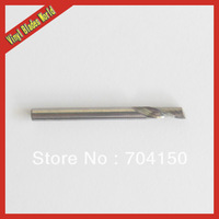 New 10pcs 3.175*6MM Spiral One Flute Tools, Engraving Bits, Cutter, Super Solid Carbide Endmill, Cutting Wood, MDF, PVC, Acryl