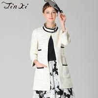 2013 autumn fashion cardigan women outerwear long-sleeve medium-long overcoat female j33719
