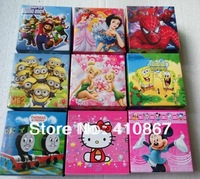 wholesale mixnx ( 20 style ) 10pcs hello kitty  ,Despicable Me  ben 10 ,Watch with boxes Christmas gift high qulaity for kids