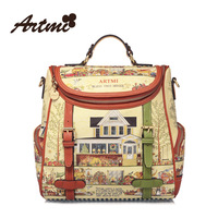 Artmi2013 backpack large fashion preppy style backpack vintage school bag large handbag free shipping wholesale high quality