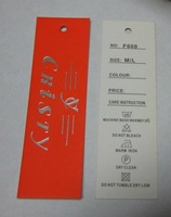 Free shipping garment tags / size label /care label /