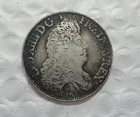 France Louis XIV Ecu 1690 COIN COPY FREE SHIPPING