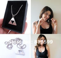 New design Legend of Zelda Triforce Pendant Stainless steel necklace free shipping