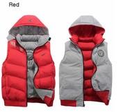 free shipping V11881 men's tank tops sportswear man coat vest brand tracksuit sports hoody leisure wear,