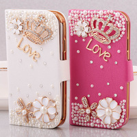 For samsung S4  i9500  bling case i9502 i959  i9508 rhinestone holsteins shell