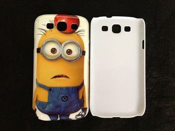 100pcs Despicable Me Print Hard back mobile/cell phone case for Samsung Galaxy S3 I9300-Despicable Me