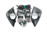 Ford Focus 2 Fog Light Whole Set for focus 07-11 year sedan hatchback halogen lamp fog lights