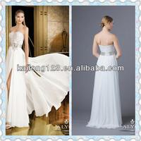 Glitter Floor Length A-line Sweetheart Neckline Beaded Bodice Ivory White Red Black Chiffon Prom Dresses 2014