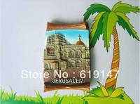 Jerusalem World Tourism Memorial Souvenir Gift Handmade Fridge Magnetic Memo Holder