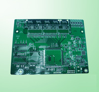 Rigid pcb prototype circuit board fabric smart board side glass fiber