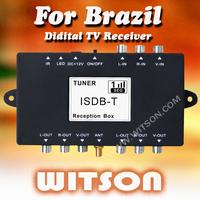 WITSON CAR ISDB-T BOX  TV Receiver for Brazil  Jappan  South America market External ISDB-T Box