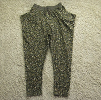 Loose casual 100% cotton harem pants harem pants Camouflage pants trousers pants