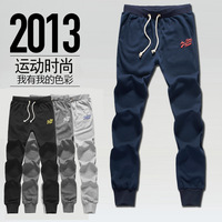 2013 spring and autumn male push-up skinny pants trousers teenage sports pants fashionable casual sports health pants