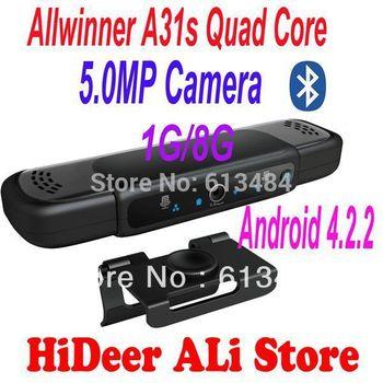 EU6000 Allwinner A31s Quad  Core 5.0MP camera and Mic  HDMI 1080P RAM 1GB ROM 8GB android 4.2.2 skype bluetooth Google TV box