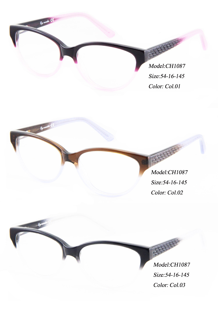 eyewear glasses  Women Cat Eye Glasses Frame Fashion Glasses Retro Eyewear ...