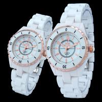 2014 Epozz ceramic watches for men and women popular elegant quartz watch freeship relojes de cuarzo para parejas 8628