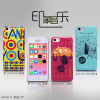New Arrive High quality colorful Hard case for iphone 5C,NILLKIN Perfect design Impression music elegant shell back cover case