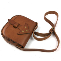 Vintage Handmade Genuine Full Grain leather Cowhide Tree Skin Cream Leather Women Messenger Bag Shoulder Bag Bags For Women 107