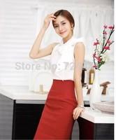 2014 autumn skirt female high waist slim hip ol professional skirts fashion high quality career elegant work wear skirt XS-3XL