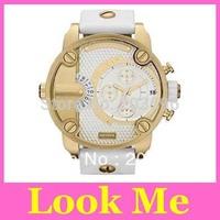 Free shipping hot sale Oversized Super Big Chronograph Mens Leather Watch DZ7270 DZ7271 DZ7272 DZ7273 Wristwatches +original box