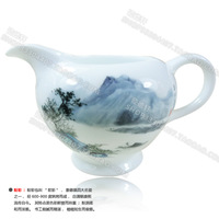 Kung fu tea fair mug jingdezhen ceramic fair mug ceramic tea sea powder caici porcelain