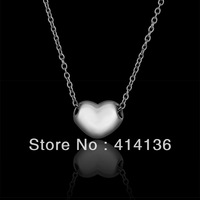 Silver Vintage Heart Choke Necklace Fashion Jewelry For Women