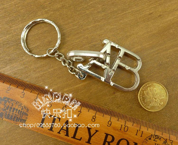 Intelligence unclasp Chinese puzzle luban ball hanayama box alloy toy belt key ring abc(China (Mainland))