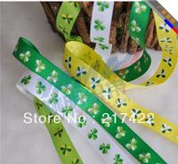 "Thread clover polyester grosgrain ribbon 5/8""(16mm)"