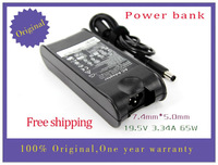 Free shipping original 19.5V 3.34A  AC adapter for dell PP05L