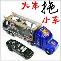 Cute Child Toy Car Big Truck Load Mini Car Simulation Trailer Toy Popular Toy Car for children 0--5 years