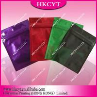 Wholesale unprinted herbal potpourri bag/aluminum foil zipper bag
