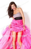 Elegant Strapless Bead Fashion Party Long Formal Prom  Dresses p64