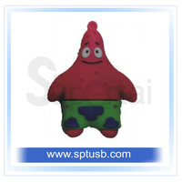 wholesale - hot style usb pendrive cartoon gift 1gb 2gb 4gb 8gb 16gb flash memory stick.