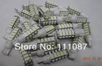 Sale ! 50 X T10 68 SMD 1206 194 168 68 led W5W License Plate Light Rear Light DC 12V Clearance Light reading lamp
