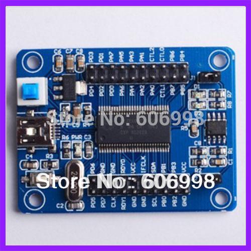IEZ USB FX2LP CY7C68013A USB core board development board USB logic analyzer