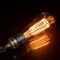 Silk light bulb pendant light vintage industrial lamp e27 bar table lamps lighting